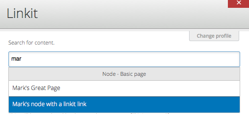 Using Linkit module to more easily create links in Drupal CMS