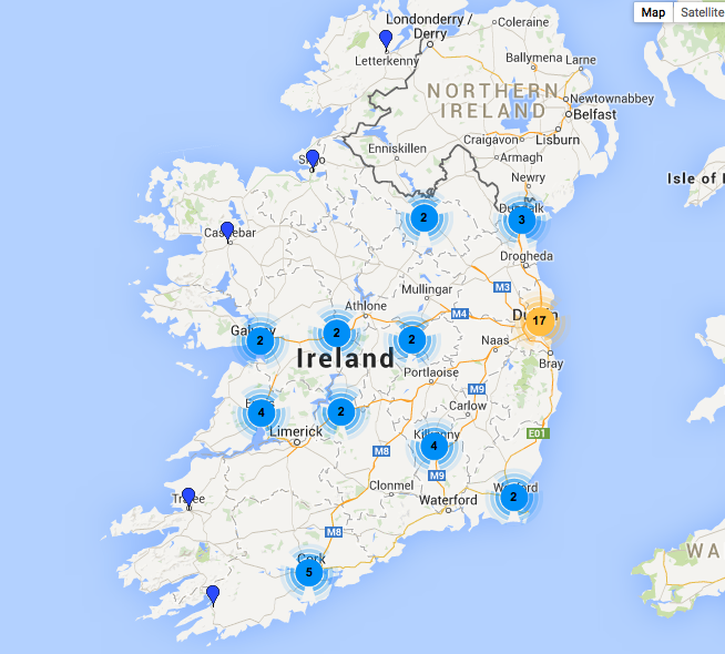 Some recent fun we've had Mapping with Drupal