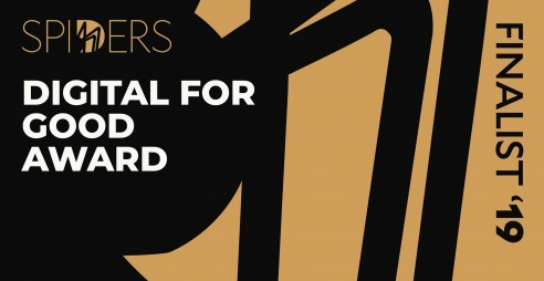 Spiders Finalist 2019 - Digital for Good Award