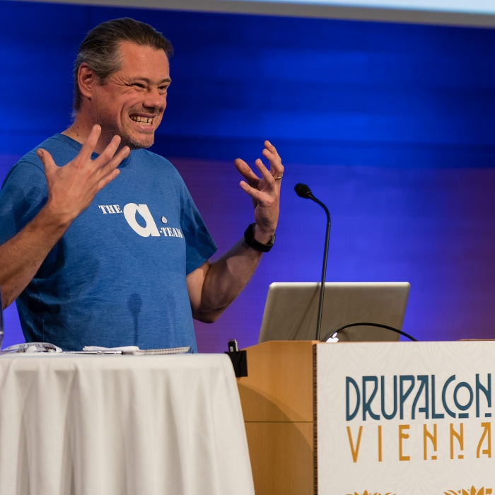 Anthony Lindsay Speaking at DrupalCon Vienna 2017