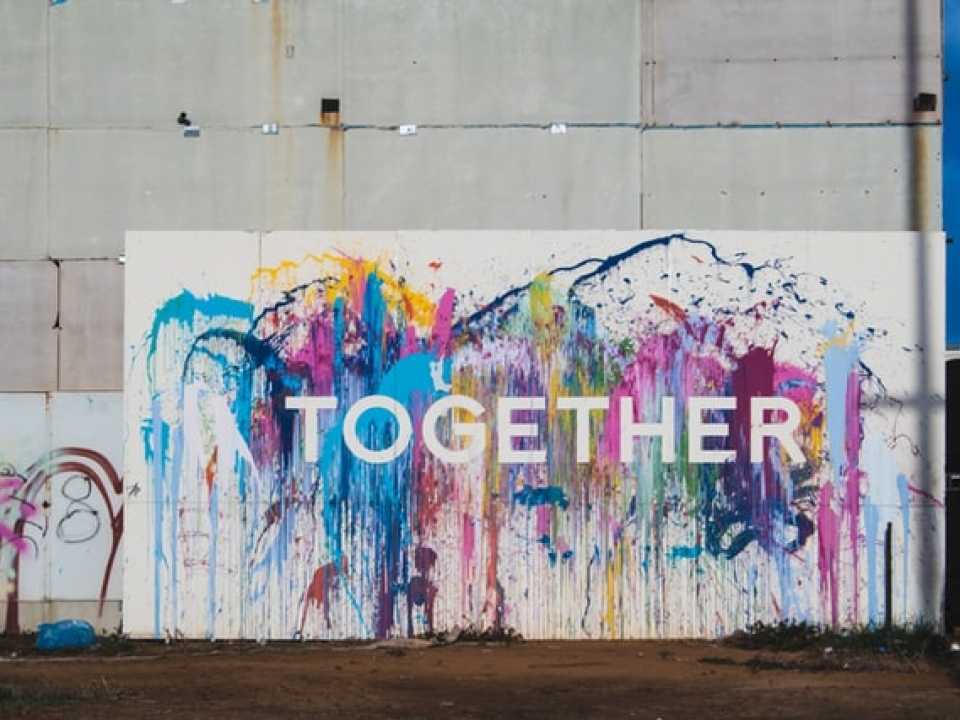 Together | Street art