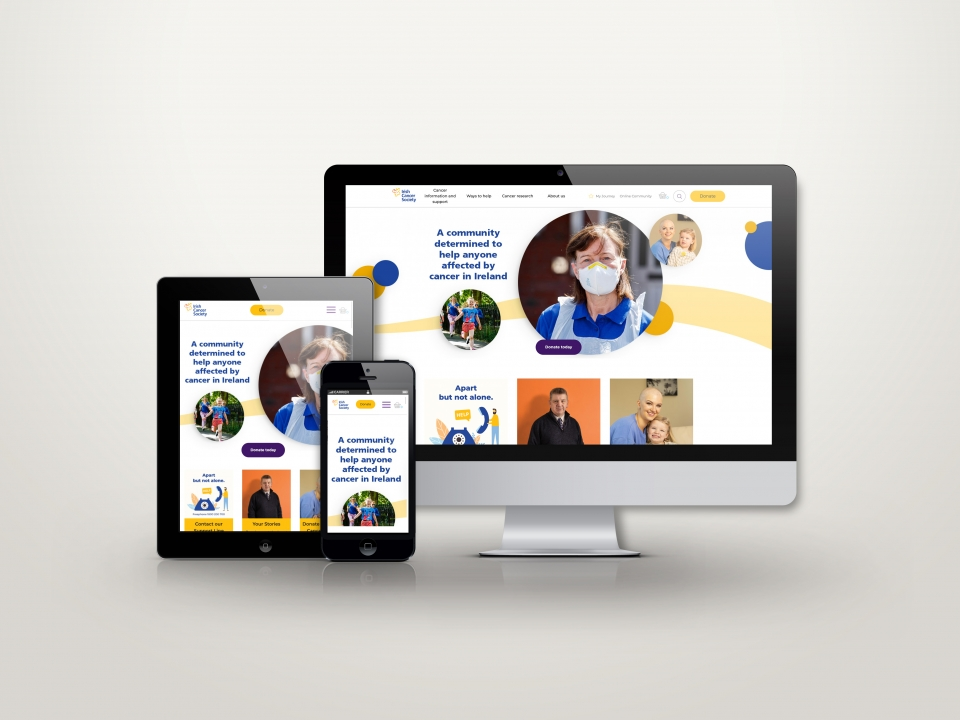 Cancer Society responsive design picture