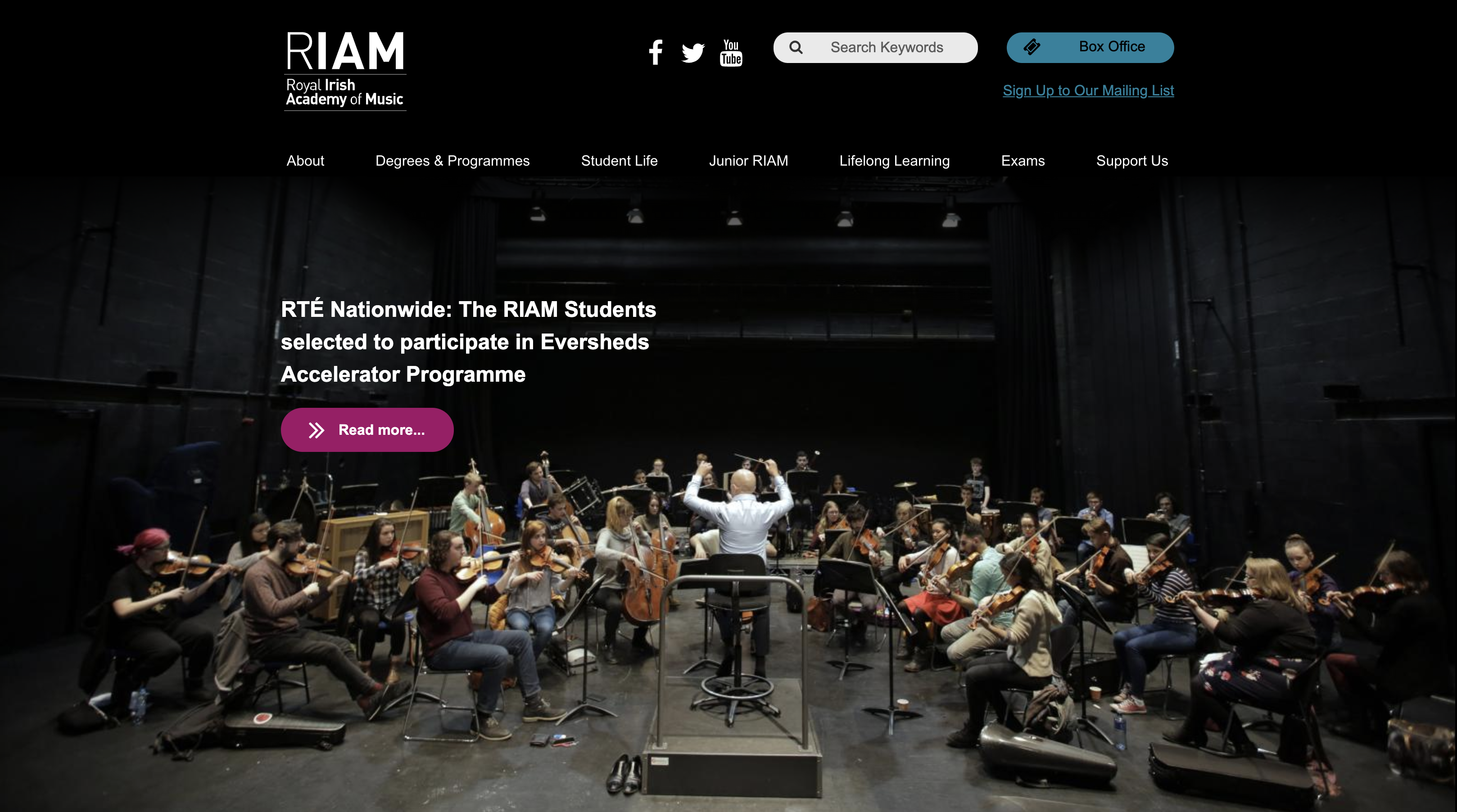 RIAM website